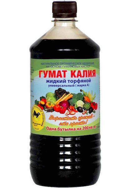 Гумат калия для томатов