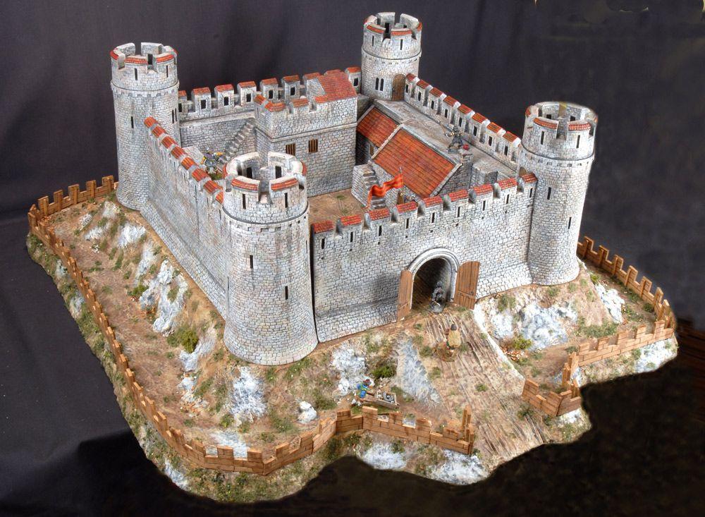 Замок из картона своими руками: мастер класс поэтапно - сайт о рукоделии