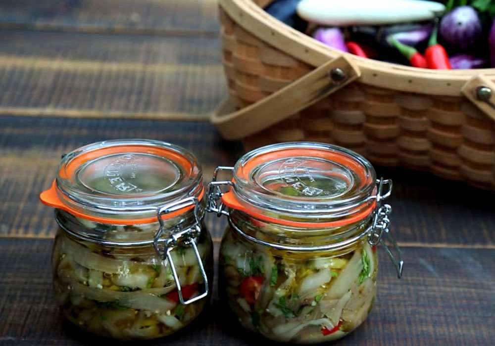 Баклажаны на зиму – 6 лучших рецептов приготовления