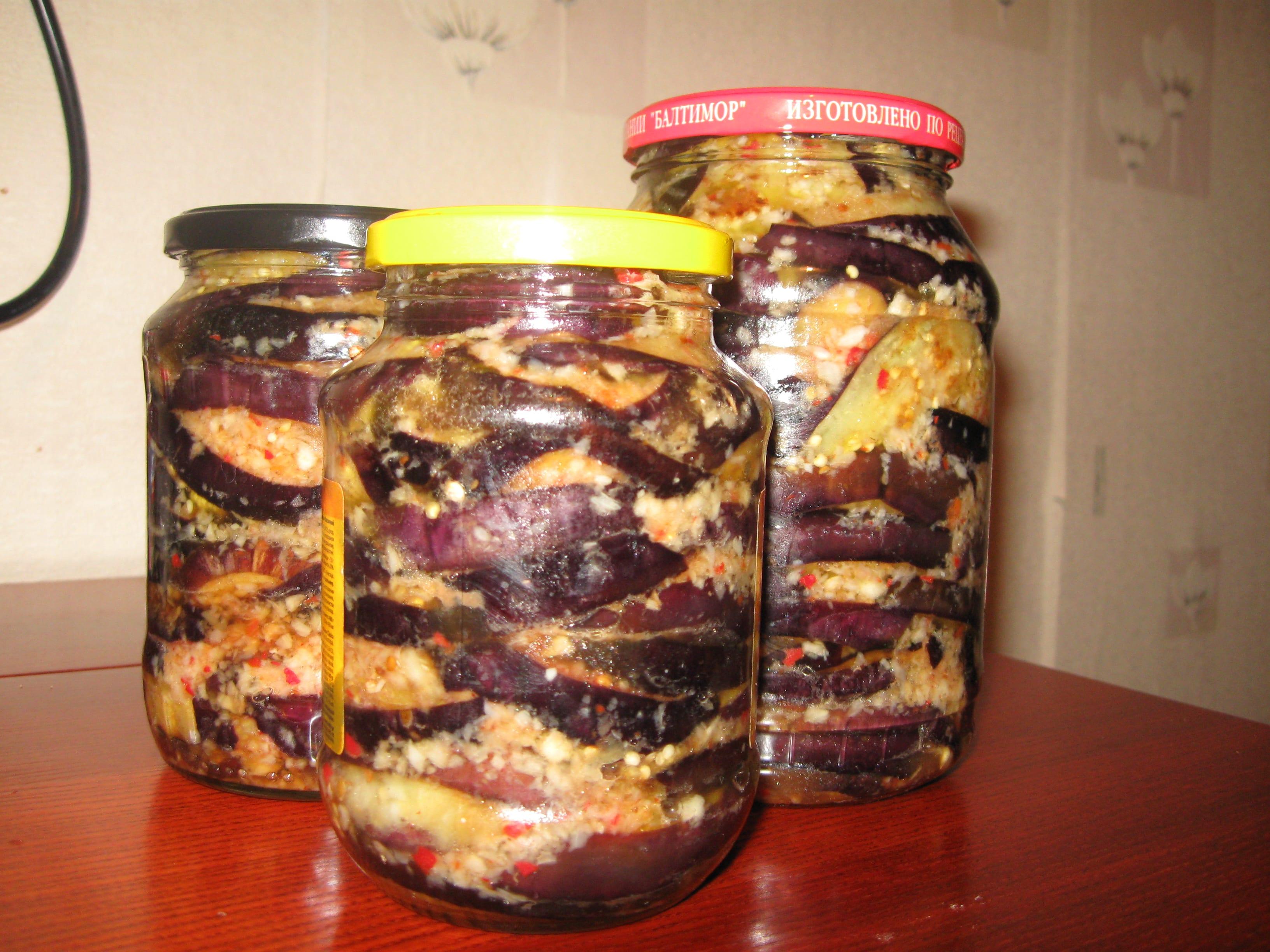 26 лучших рецептов приготовления вкусных баклажанов на зиму