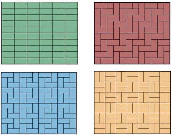 Лучшие способы укладки тротуарной плитки: 4 метода