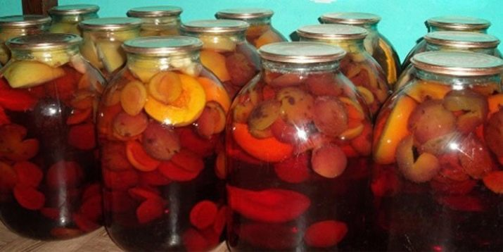 Компот ассорти из ягод на зиму
