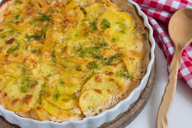 Готовим ароматный запеченный картофель с румяной корочкой