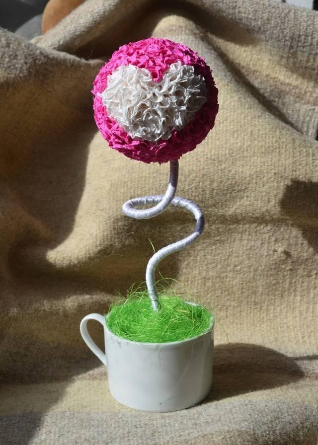 Кофейное дерево (топиарий из кофе): как сделать дерево в горшке из кофейных зерен