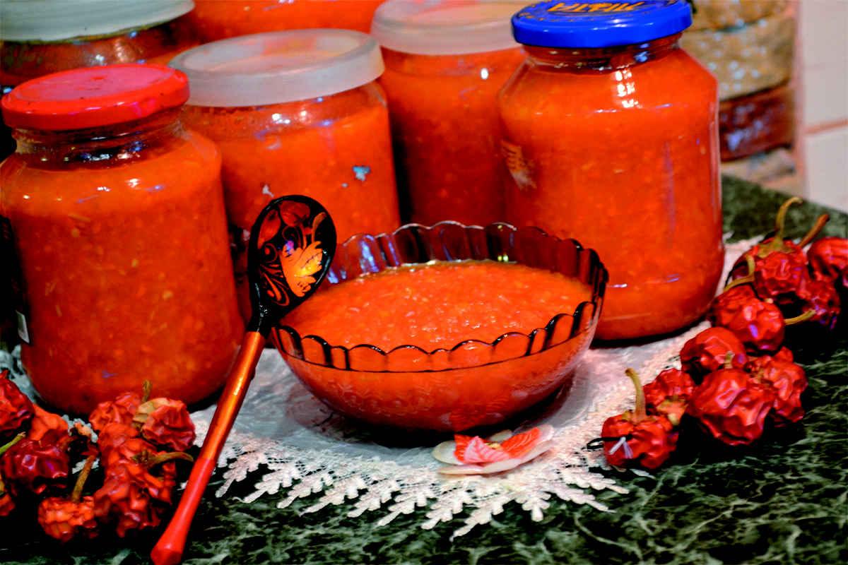 Аджика на зиму – самые вкусные рецепты домашней аджики