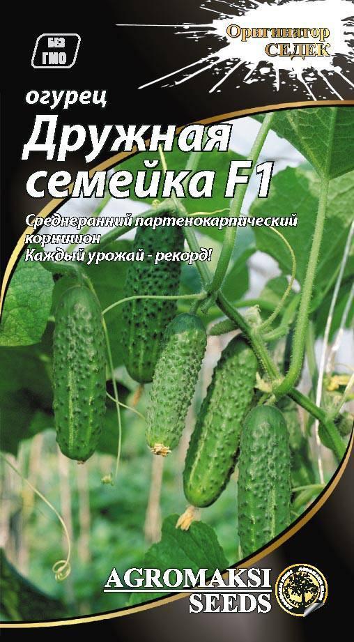 Огурец изумрудная семейка f1 — описание и характеристика сорта