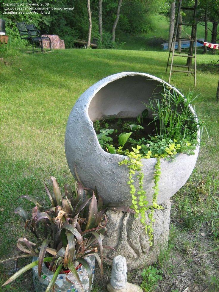 Садовые скульптуры - техника украшения малыми архитектурными формами