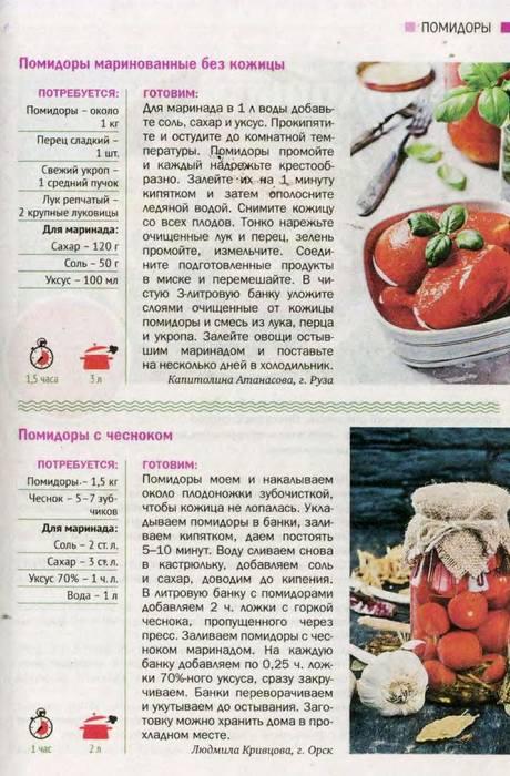 Сладкие помидоры в литровых банках на зиму (маринованные, консервированные)