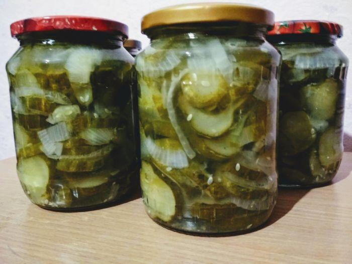 Закуска из огурцов на зиму - простое и доступное блюдо: рецепт с фото и видео