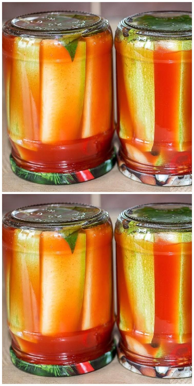 Консервированные кабачки в томате на зиму: обалденные рецепты «пальчики оближешь»