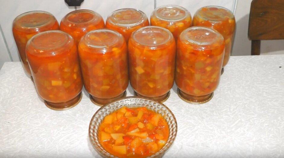 """Салат """"анкл бенс"""" из кабачков на зиму: рецепты заготовки, из чего приготовить эту закуску"""
