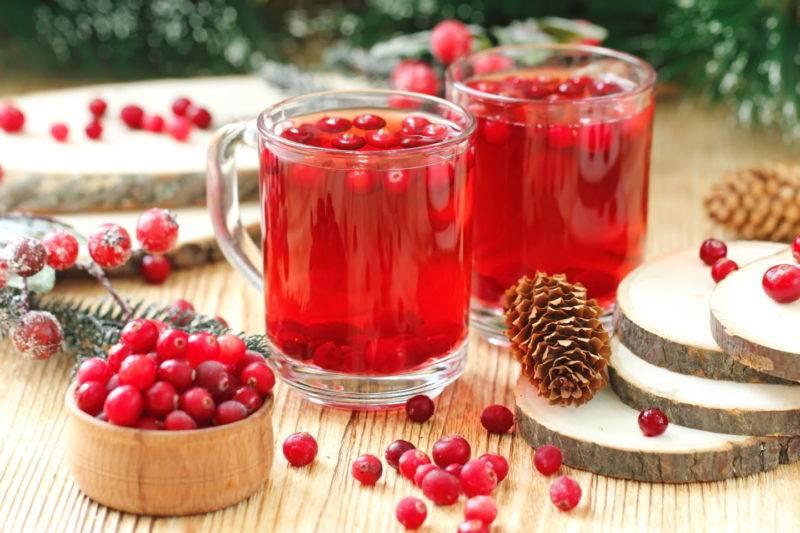 Компот из замороженных ягод - рецепты с вишней, клюквой, брусникой и крыжовником