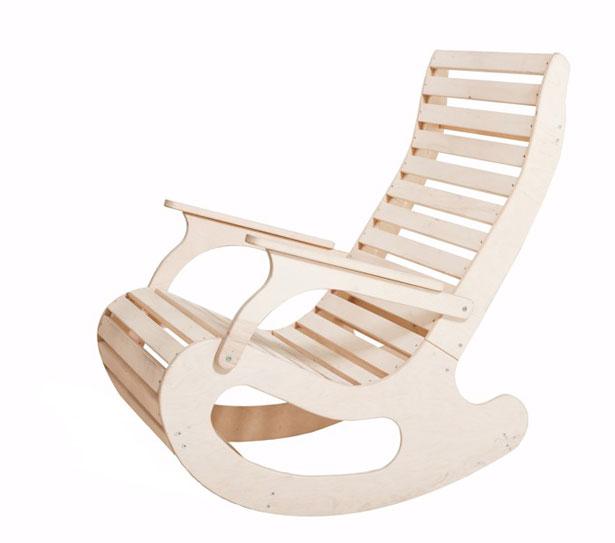 Как сделать кресло-качалку из металла своими руками?
