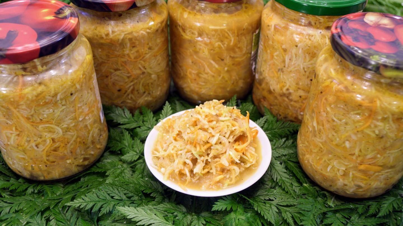 Вкусные салаты из кабачков на зиму - 16 рецептов, пальчики оближешь!