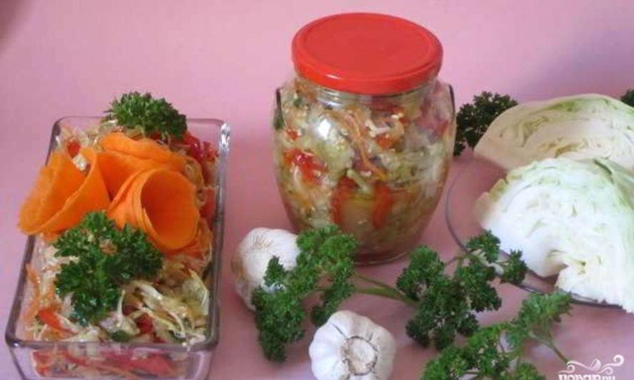 Баклажаны с капустой на зиму: рецепты :: syl.ru