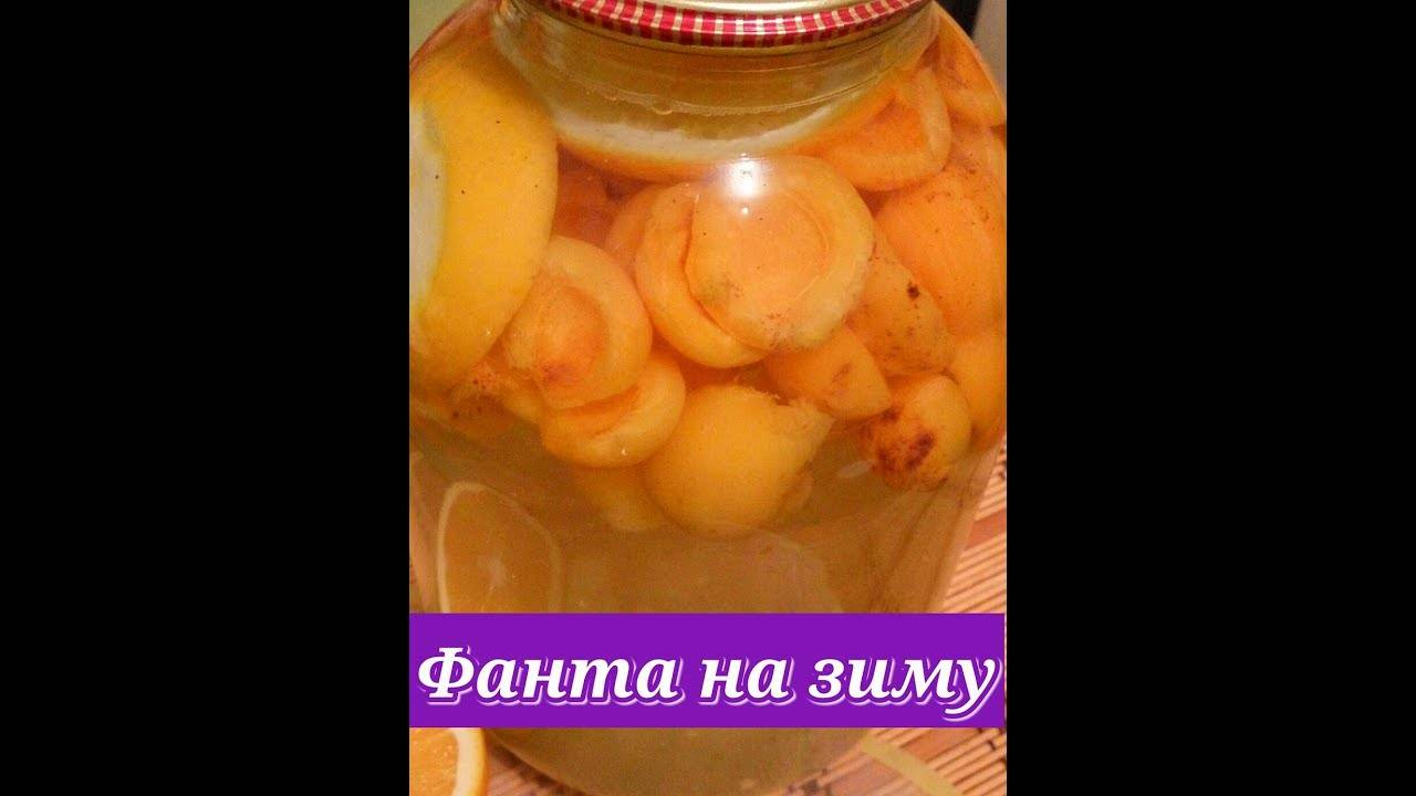 Рецепт фанты из абрикос и апельсин и лимона
