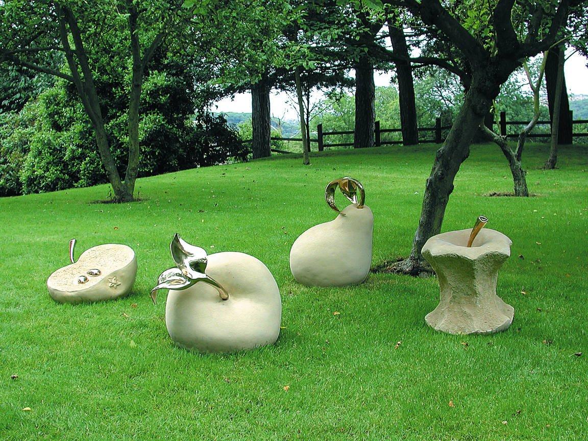 Идеи для сада: клумбы своими руками не как у всех, украшение сада, оригинальные задумки