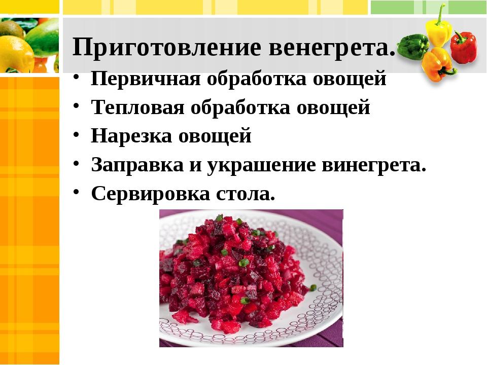Салат винегрет