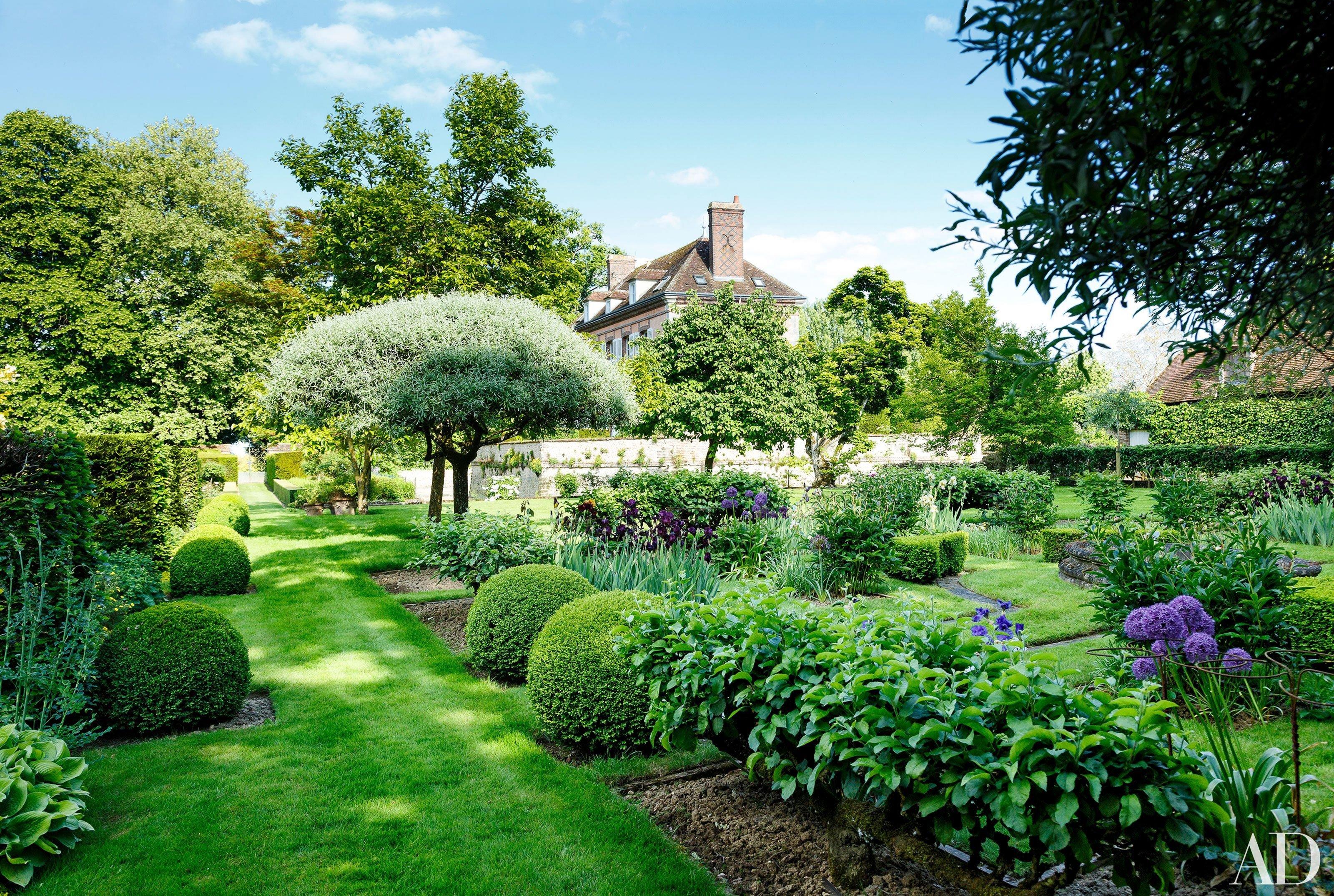 Законы создания садового пейзажа