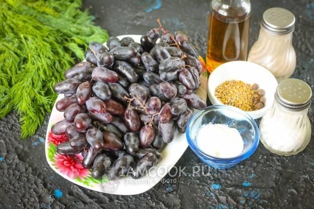 Маринованный виноград: топ 13 пошаговых рецептов приготовления на зиму
