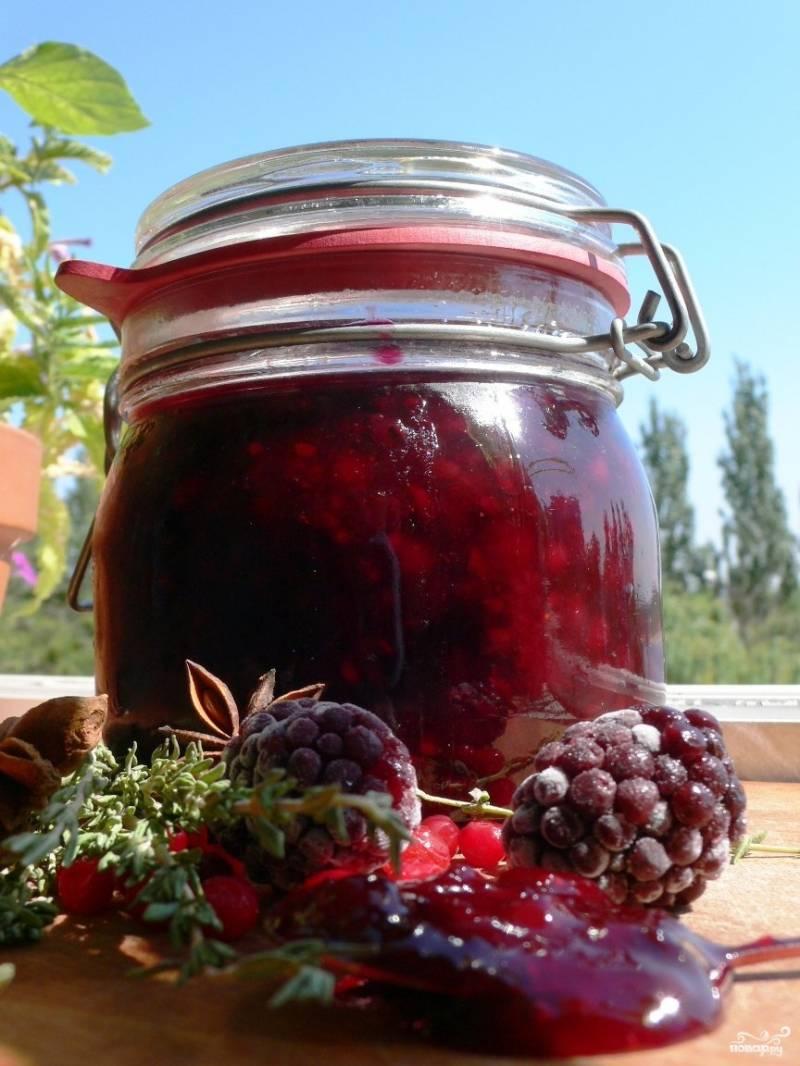 Ежевика с сахаром на зиму без варки: 2 лучших рецепта приготовления заготовки