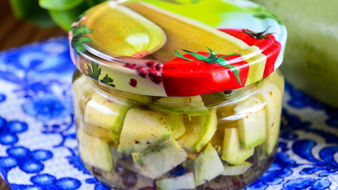 Кабачки на зиму маринованные острые: рецепт с фото - samchef.ru