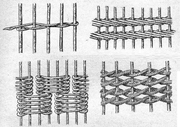 Плетень для дачи: разновидности материалов и плетения, мастер класс по изготовлению своими руками