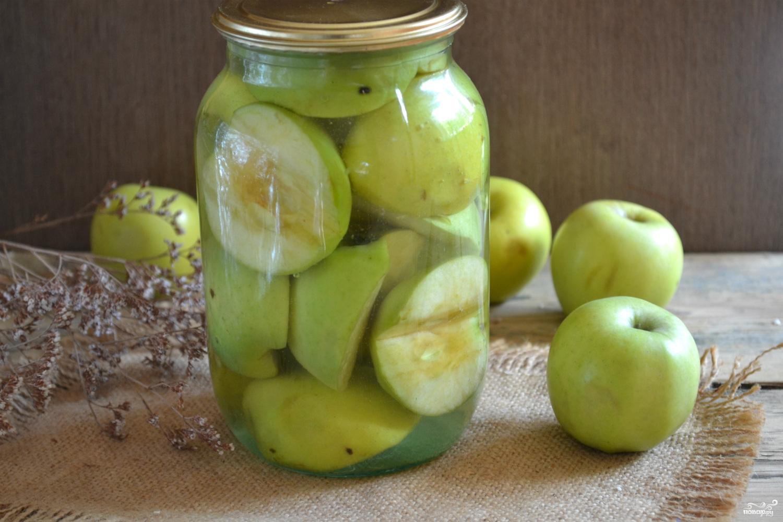 Компот из яблок на зиму – 9 простых вкусных рецептов