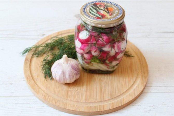 Салат из редьки на зиму - с разными овощами и специями придающие яркость вкусу: рецепт с фото и видео