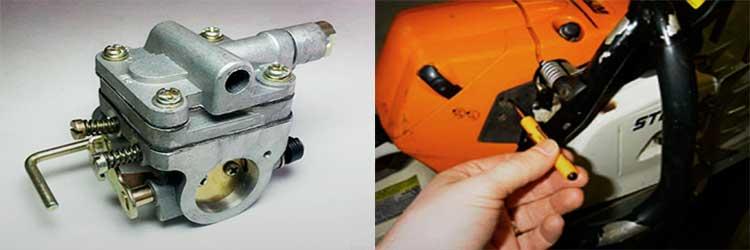 Карбюраторы бензопил huter — устройство, регулировка и ремонт