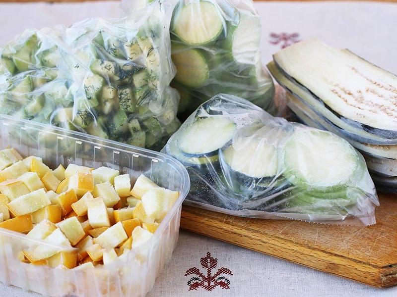 Как самим заготовить замороженную овощную смесь, похожую на ту, что продают в магазинах