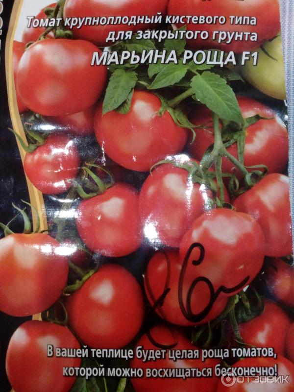 Томат марьина роща: отзывы, фото, урожайность, описание и характеристика | tomatland.ru