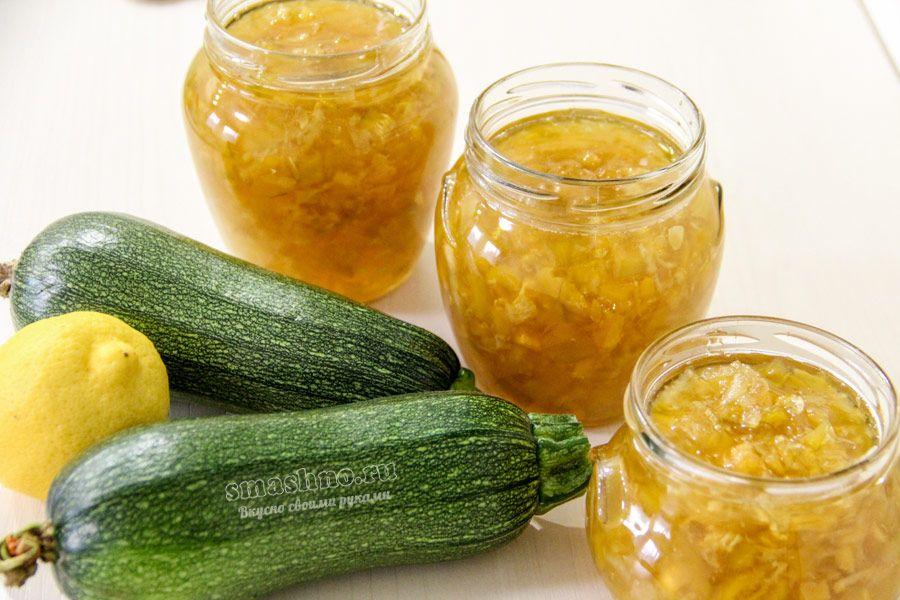 Варенье из кабачков на зиму - вкусные рецепты кабачкового варенья, пальчики оближешь