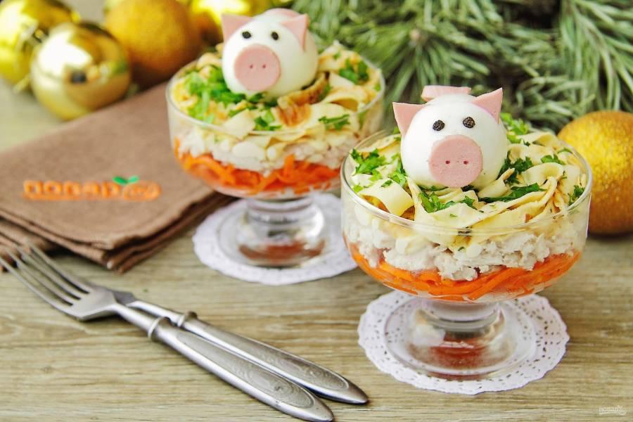 Что приготовить на новый 2019 год на стол. 15 лучших рецептов на год свиньи. новогодний стол 2019. праздничное меню 2019