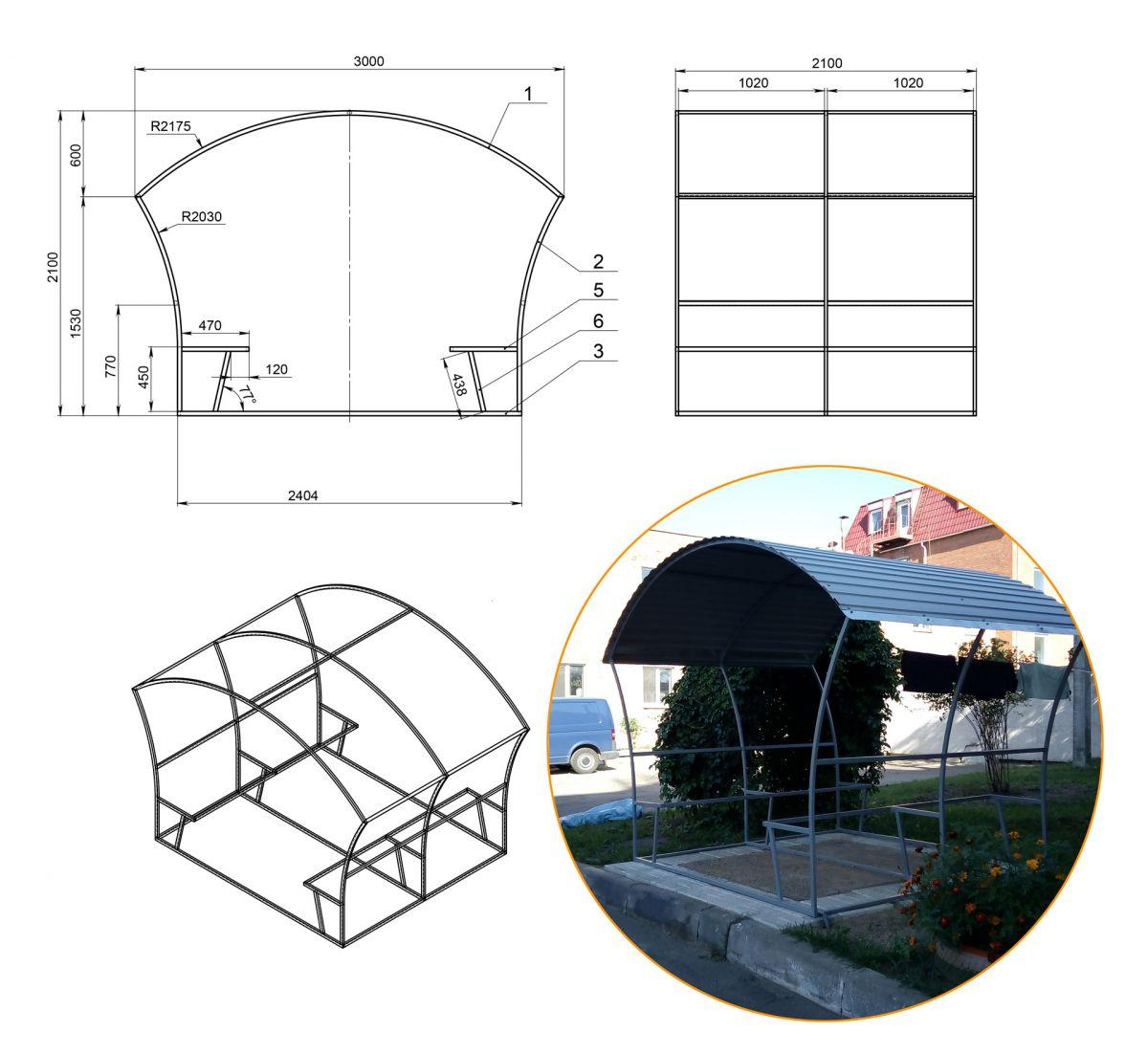 Беседки из поликарбоната (57 фото): как просто и красиво построить беседку для дачи и во дворе частного дома своими руками