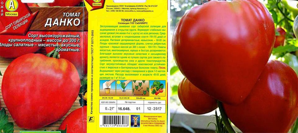 Томат данко - описание сорта и его характеристика русский фермер