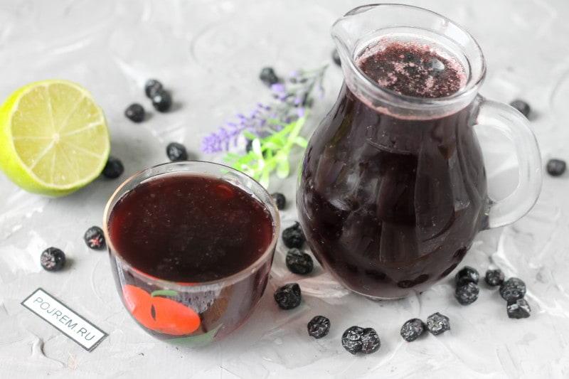 Как приготовить компот черноплодной рябины – рецепты заготовки компота из черноплодки на зиму