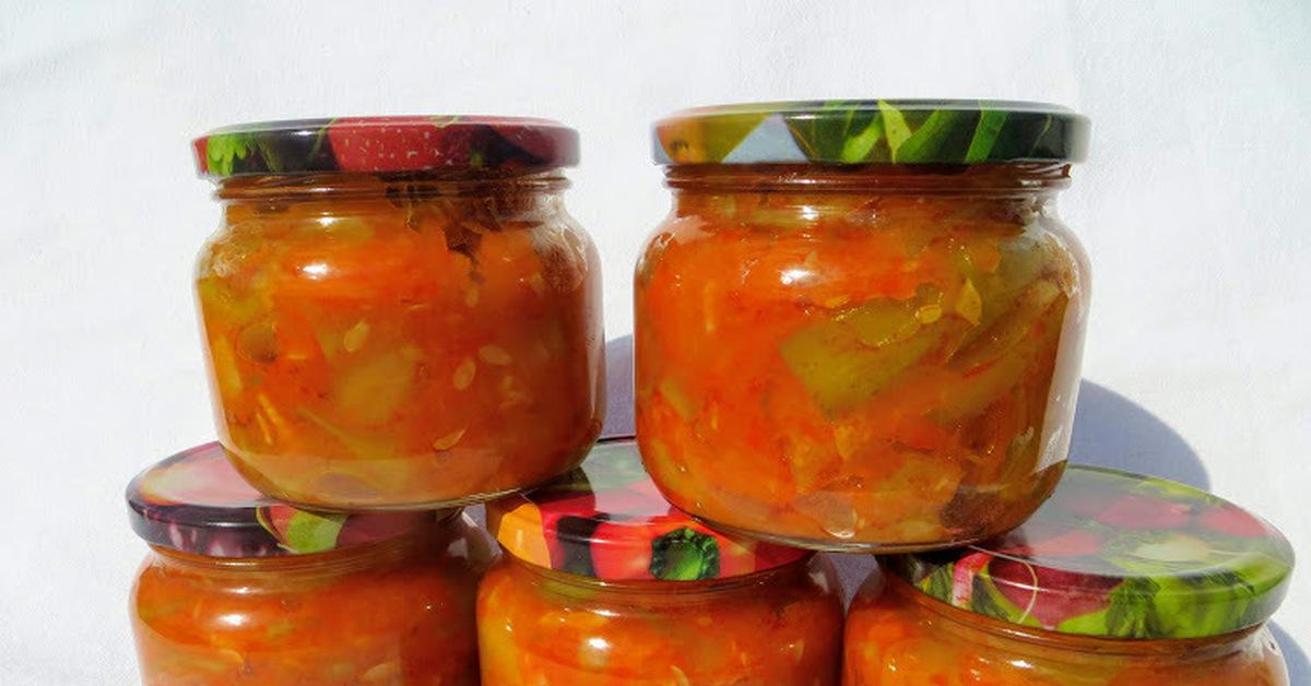 Баклажаны по татарски на зиму — лучшие рецепты с фото