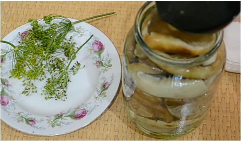 5 рецептов с фото: маринованные грузди на зиму в банках горячим способом