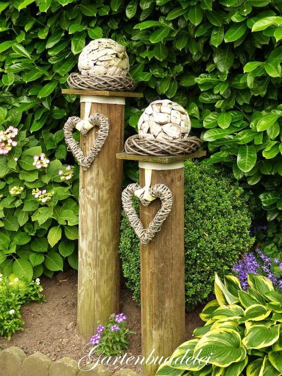 Декоративные украшения для сада своими руками: подборка из 18 интересных идей