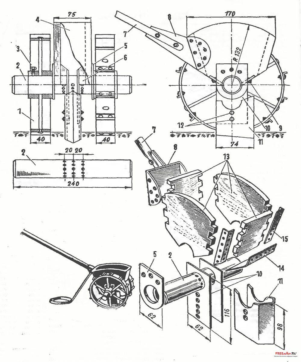 Сажалка для чеснока: описание, принцип работы, популярные модели сеялок