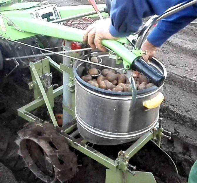 Приспособления для прополки картофеля