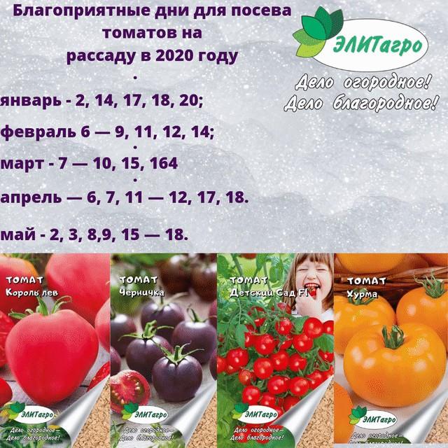 Лунный календарь для посева рассады семенами на 2021 год