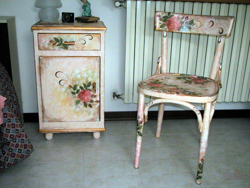 Декупаж мебели в стиле прованс: дизайн своими руками