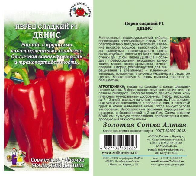 Сорт перца атлант — описание и советы по выращиванию