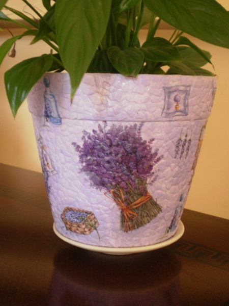 Комнатные вазоны для цветов своими руками: мастер-классы +223 фото
