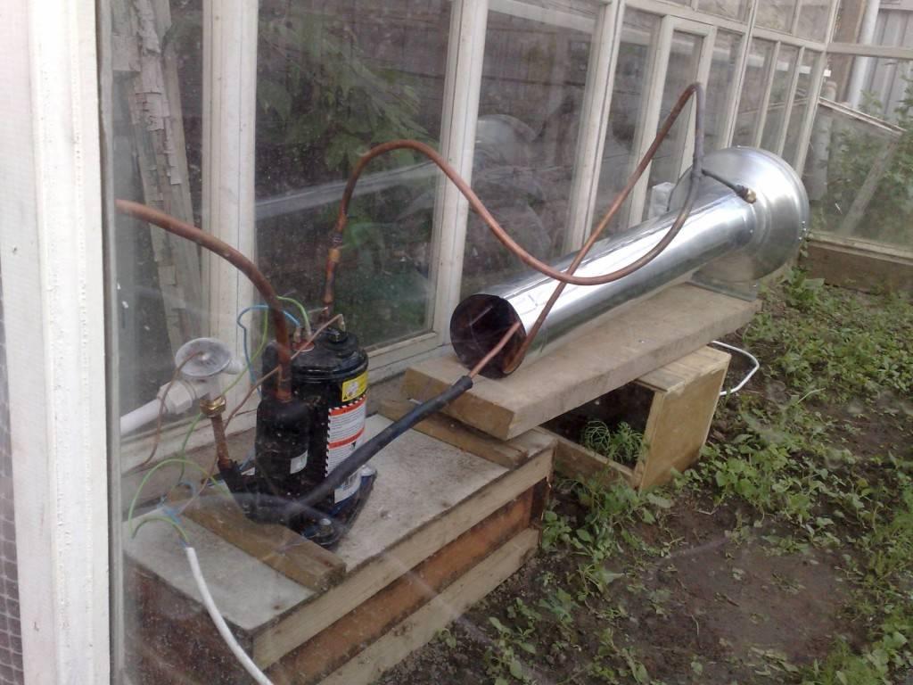 Самодельное отопление в теплице своими руками: обогрев парника электричеством, газом, воздухом и водой